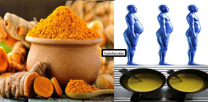Dieta a base di curcuma, spezia dimagrante