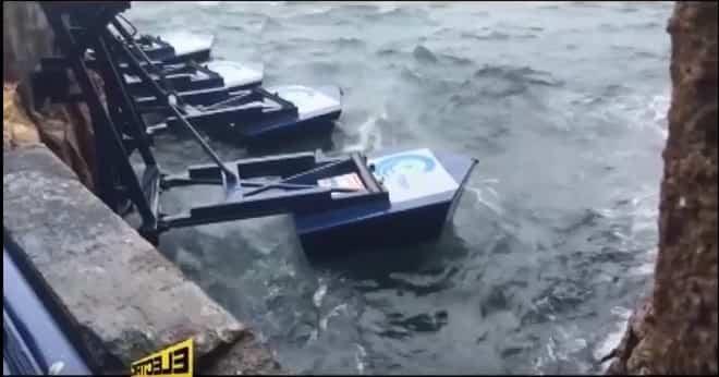 centrale elettrica onde del mare