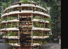 Il growroom, l'orto sostenibile sferico in grado di alimentare un intero quartiere in pieno centro