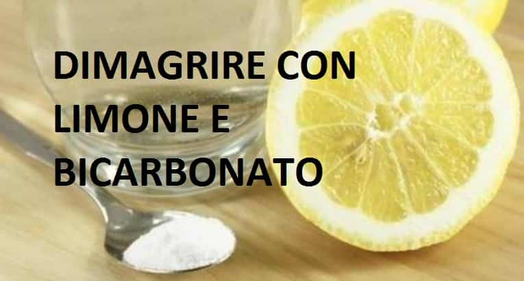 Dimagrire con bicarbonato di sodio e limone.ecco come