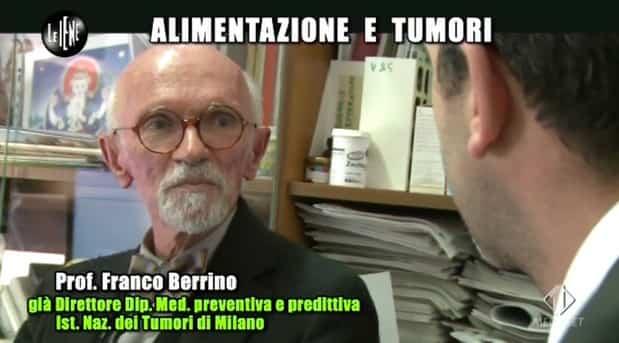 alimentazione e tumori intervista shock iene franco berrino