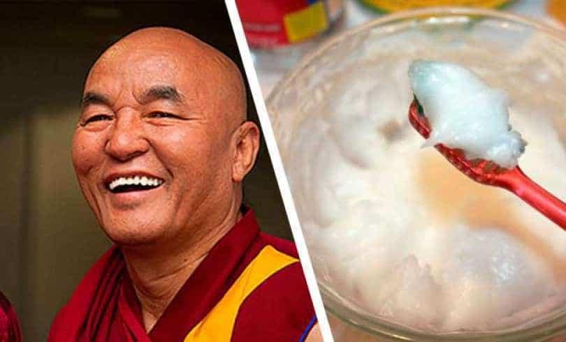 Denti bianchi e forti per anni con il rimedio dei monaci tibetani